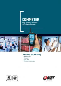 CATALOG - Portable measuring instruments COMMETER